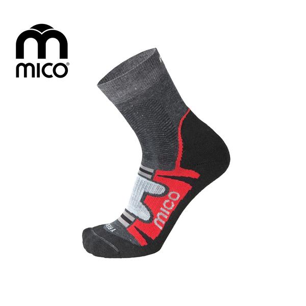 Trekking Corta健行襪3063 MICO/城市綠洲(義大利、萊卡、銀離子、抗臭、彈性)