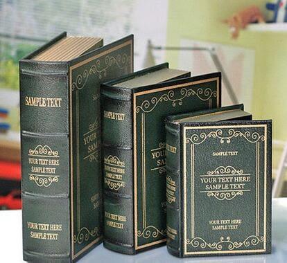 仿真書假書書本書籍多功能書房裝飾書道具書盒模型裝飾品擺件