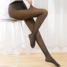 假透膚打底褲女外穿刷毛彈力包腳連身褲襪