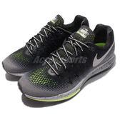 【五折特賣】 Nike 慢跑鞋 Wmns Air Zoom Pegasus 33 Shield 黑 灰 潑墨 反光 防潑水 女鞋【PUMP306】 849567-001