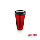 【優多生活】韓國WONDER MAMA 不鏽鋼保溫杯480ml (酒紅)