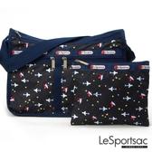 LeSportsac - Standard雙口袋A4大書包-附化妝包 (夢想起飛) 7507P F773