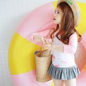 *╮小衣衫S13╭*韓風火鶴鳥泳衣泳褲泳帽三件式套裝1070605