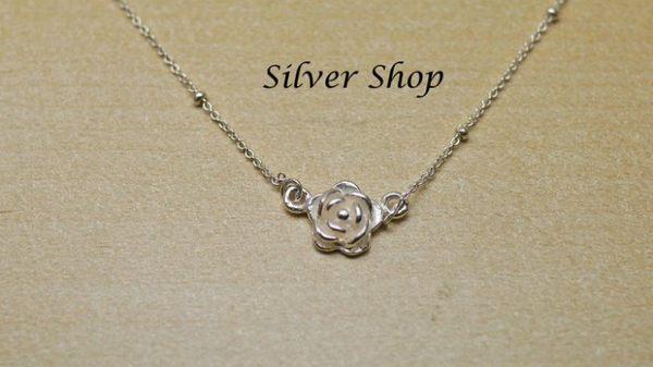 ╭☆ Silver shop ☆╯純銀 S925 套鍊 [ snn 005 ]