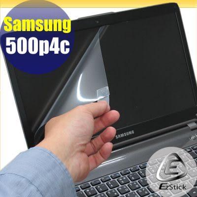 【EZstick】Samsung Series 5 NP500P4C 專用 靜電式筆電LCD液晶螢幕貼 (可選鏡面及霧面) 另有客製化服務