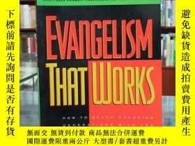 二手書博民逛書店EVANGELISM罕見THAT WORKSY17268 GEORGE BARNA Regal Books
