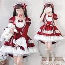 花嫁lolita裙子正版蘿莉塔公主lo裙娘學生洛麗塔全套裝兒童女童夏【蘿莉新品】