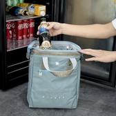 保溫袋 大號手提保溫便當包飯盒包復古加厚防水款便當袋可裝啤酒和紅酒 【免運】