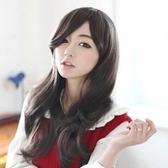 假髮(長髮)-韓版氣質捲髮斜瀏海女配件3色73fi46[時尚巴黎]