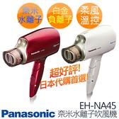 Panasonic 國際牌 奈米水離子吹風機 EH-NA45 ※贈烘罩