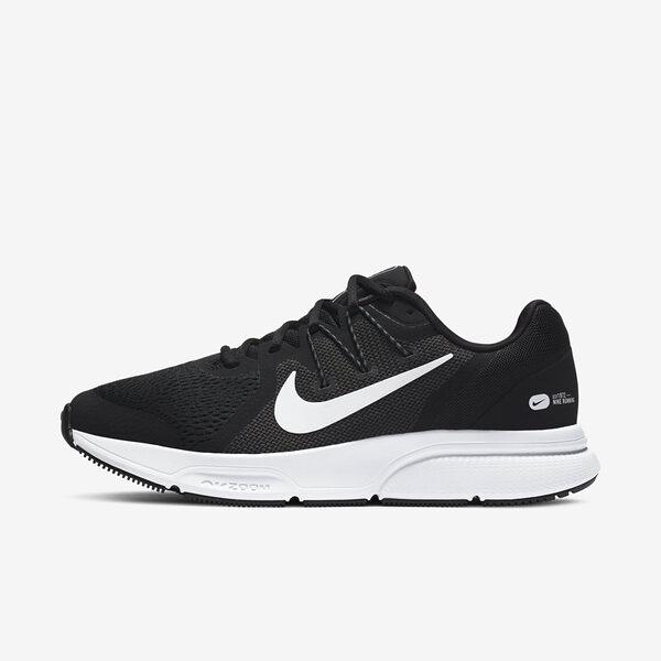 Nike Zoom Span 3 [CQ9269-001] 男鞋 慢跑 運動 休閒 輕量 透氣 緩衝 彈力 情侶 黑 白
