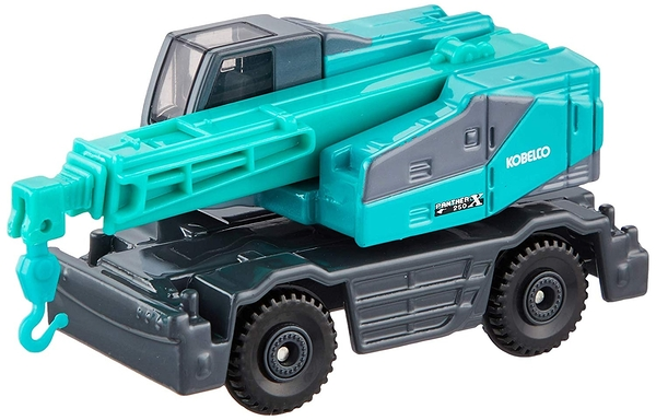 【 TOMICA 火柴盒小汽車 】TM073 KOBELCO ROUGH TERRAIN CRANE PANTHER-X 250