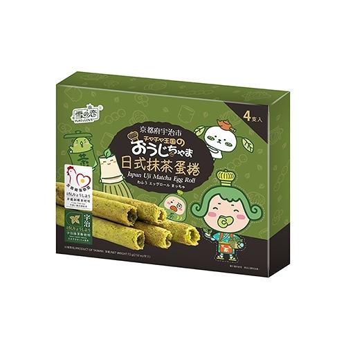 《茶茶小王子》日式抹茶蛋捲72g【愛買】
