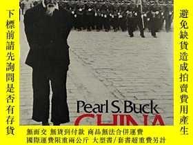 二手書博民逛書店【罕見】中國過去現狀 China: Past and Prese