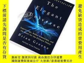 二手書博民逛書店優雅的宇宙罕見英文原版 The Elegant Universe Brian GreeneY335736 Ja