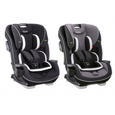 GRACO SLIMFIT LX 0-12歲長效型嬰幼汽車安全座椅-酷黑宇宙/銀灰巨岩