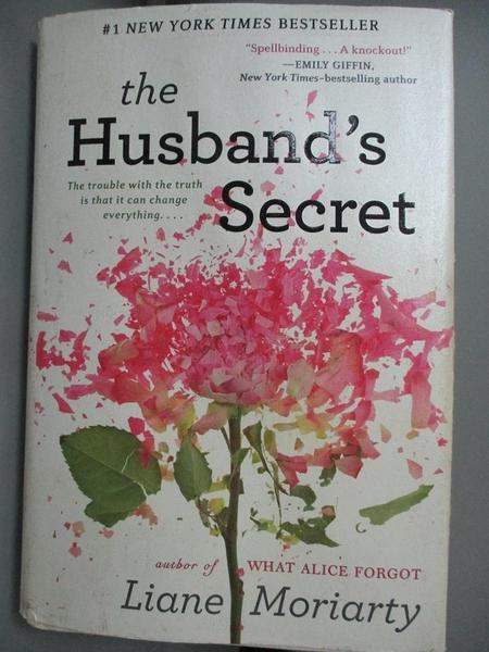 【書寶二手書T7/原文小說_MGJ】The Husband's Secret_Moriarty, Liane