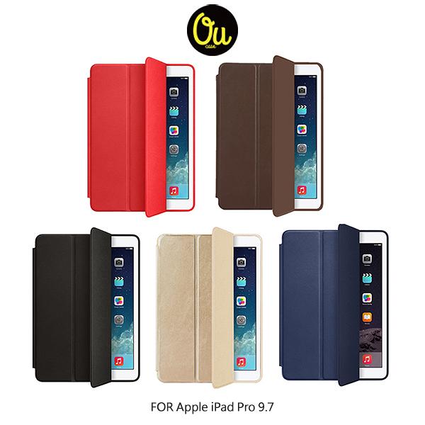 【愛瘋潮】Oucase Apple iPad Pro 9.7 吋 原系列皮套 三折皮套 平板皮套 休眠喚醒