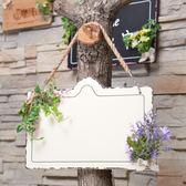 木質雙面掛牌美式創意壁掛門店牌welcome營業牌留言板掛式歡迎牌    igo可然精品鞋櫃