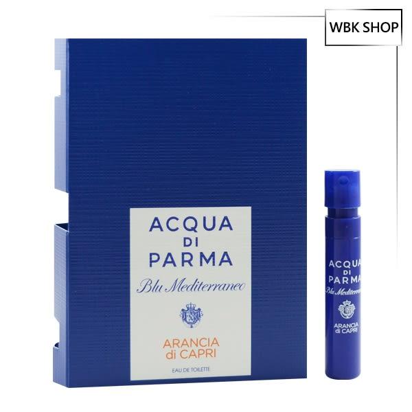 Acqua di Parma 藍色地中海-卡普里島橙淡香水 針管小香 1.2ml - WBK SHOP