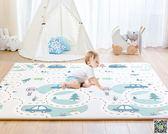 遊戲墊 寶寶加厚遊戲墊 嬰兒環保無味XPE爬爬墊兒童泡沫地墊客廳家用 JD 小天使