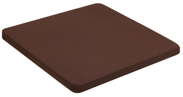 源之氣【記憶舒緩墊/加大四方】RM-40203竹炭靜坐墊/二色可選60x60高3.5公分
