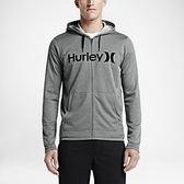 Hurley X NIKE DRI-FIT科技 -  LAKE STREET KNIT 連帽外套 -男(淺灰)