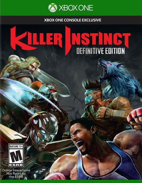 X1 Killer Instinct Definitive Edition 殺手本能 確定版(美版代購)