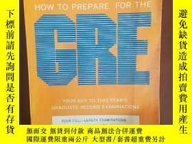 二手書博民逛書店HOW罕見to prepare for the GREY2570