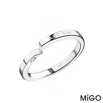 MiGO鋼飾-牽手-鋼飾戒指(女)