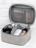 化妝包女便攜超大容量多功能護膚品收納箱簡約小號手提袋『艾麗花園』