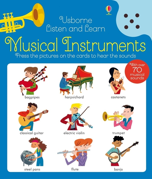 Listen And Learn Musical Instruments 認識樂器 聽說學習本