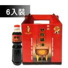 屏東監獄 甘醇醬油禮盒(500ml*6瓶...