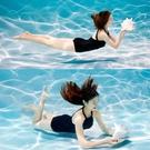 游泳衣女連身性感小胸韓國保守ins泡溫泉年新款泳裝 格蘭小鋪