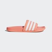 Adidas Adilette Comfort [B43528] 女 涼鞋 拖鞋 運動 休閒 時尚 經典 橘白 愛迪達