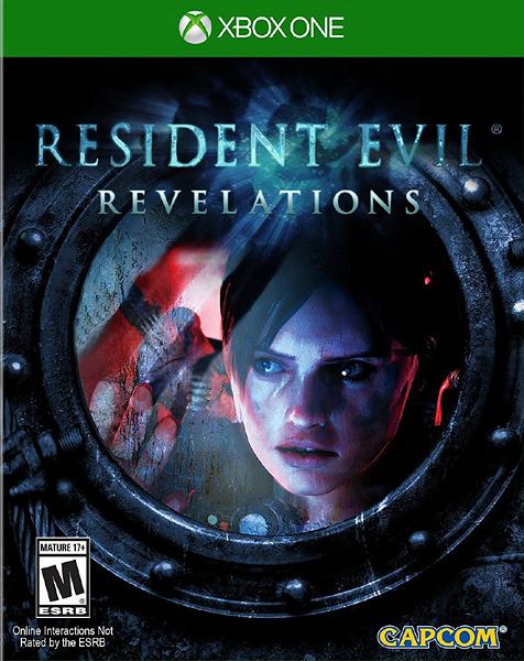 X1 Resident Evil Revelations 惡靈古堡:啟示(美版代購)