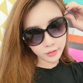 女新款太陽眼鏡個性女士墨鏡復古圓臉流行圓形