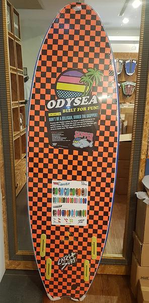 "Catch Surf - 60"" Odysea Skipper Quad - 四鰭軟式衝浪板60吋(絕版款)"