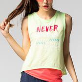無袖個性印花罩衫TA739(商品不含內搭與配件)-百貨專櫃品牌 TOUCH AERO 瑜珈服有氧服韻律服