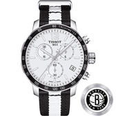 NBA聯名款:籃網隊 TISSOT 天梭 X NBA 籃網隊計時特別版手錶-42mm T0954171703711