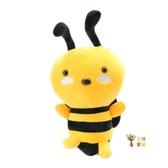 公仔娃娃 可愛卡通仿真蜜蜂公仔毛絨玩具婚慶拋灑布娃娃兒童小玩偶女孩男孩