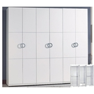 衣櫃 衣櫥 SB-564-A 凱倫7X7尺白色組合衣櫃 【大眾家居舘】