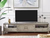 電視櫃 美式電視機櫃客廳輕奢實木腳矮櫃簡約後現代傢俱完美