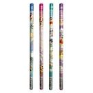 【日本正版】蠟筆小新 2B鉛筆 4入組 日本製 鉛筆 圓軸鉛筆 野原新之助 春日部防衛隊 - 459780
