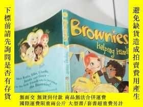 二手書博民逛書店brownies罕見helping hands:布朗 尼幫手Y200392