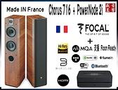 『門市現貨』加拿大 Bluesound PowerNode 2i + 法國 Focal Chorus 716 喇叭 - 無線串流組合 - 公司貨