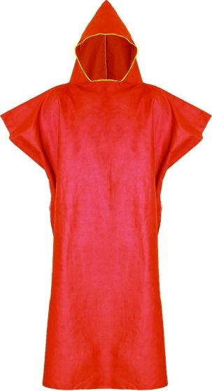 Trekmates 英國 TT可穿式吸水帽浴巾-全身 雅法橘 ACC-MS-X10807 水上活動 玩水 更衣 浴巾 海灘巾 [易遨遊]