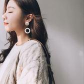 耳環 Taimi 韓國冷淡風木質耳環超仙氣質個性耳釘女圓臉適合耳墜耳飾 唯伊時尚