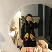 日系手套女冬可愛韓版卡通學生情侶連指掛脖保暖加厚絨軟妹騎車 電購3C