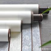 全綾精裝裱空白捲軸半生半熟書法作品宣紙橫軸掛軸書畫軸 交換禮物 YXS